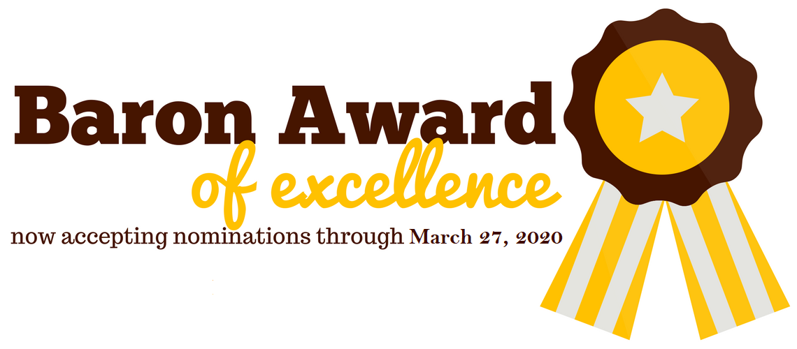 Baron Award of Excellence