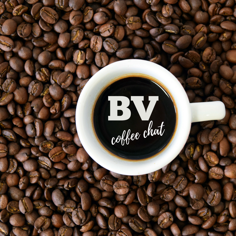 coffee chat for BV