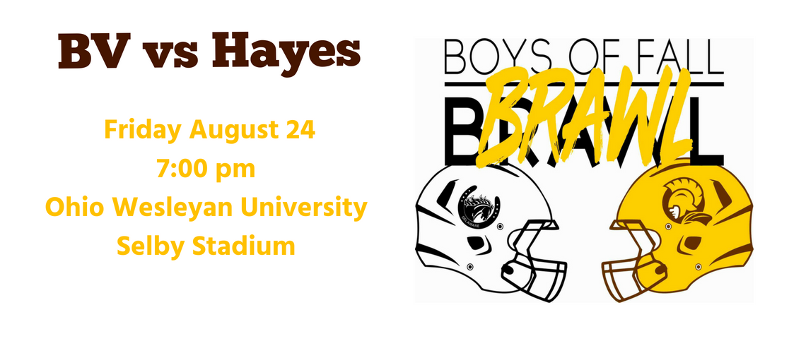 Hayes v BV Football Game Details