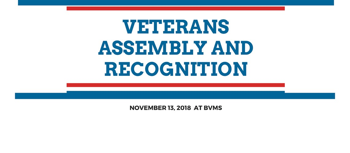 2018 Veterans Assembly and Recognition